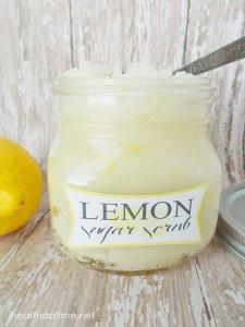 Esfoliante de limão